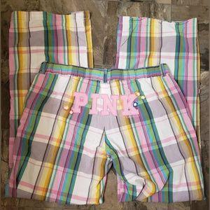 PINK VICTORIA'S SECRET LOUNGE PANTS L